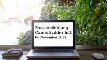 CareerBuilder hilft - Spendenaktion zum Jahresendspurt: Jede Buchung tut Gutes