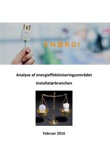 "Rapporten: ""Analyse af energieffektiviseringsområdet - Installatørbranchen"""