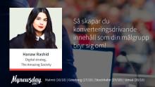 """#MNDAY17: """"Sociala medier har ändrat synen på bra innehåll"""""""
