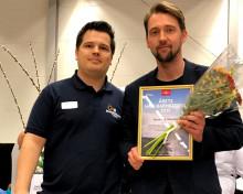 Sandlund/Hossain vinnare av Härnösands Hållbarhetspris