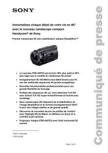 Communication de presse_CES 2015_Camcorder_F-CH_150106