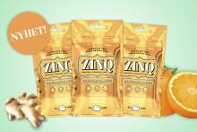 En unik och ny smakupplevelse är här - ZINQ Ginger/Orange!
