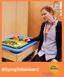 Dying Matters Week – Play Therapy is essential in helping bereaved children process their grief and loss.