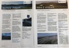 Siste nytt om Storheia og Hitra 2 vindparker i postkassene