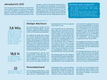 Viva con Agua Jahresbericht 2019