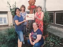 Laufen für Bärenherz: 3. Grundschule in Riesa veranstaltet Sponsorenlauf