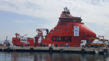 ESVAGT SOV for MHI Vestas ready for sea trials