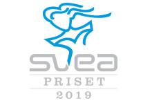 Fem nominerade till SveaPriset 2019