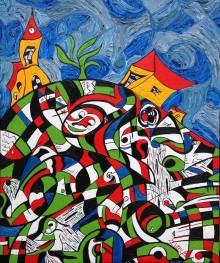 "Chianciano Biennale 2015. Marcel Schreur to show ""Bella Italia""."