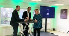 Nytt samarbete ger fastigheter el från bussbatterier