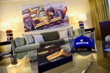 Svit på Fairmont Monte Carlo tillägnas F1-legendaren Ayrton Senna