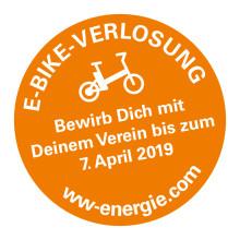 Heute durchstarten - Morgen E-Mobil sein! Gewinnen Sie eins von 20 E-Bikes für Ihren Verein!