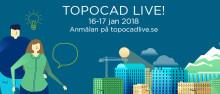 Träffa oss på Topocad Live 2018!