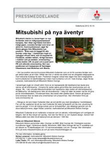 Mitsubishi på nya äventyr