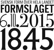 Svensk Form 170 år – möt årets alla Formbärare 2015