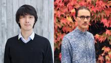Kyuhyung Cho och Erik Olovsson från Ung Svensk Form – 2015 års vinnare av Formex designpris Nova