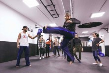 Capoeira – mit dem Weltmeister Mestre Juninho
