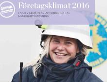 """Förbättrat betyg från företagen i mätningen """"Företagsklimat 2016"""""""