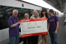 ​Southern staff chose Eastbourne good cause as corporate charity