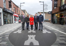Ballymena streets transformed in public realm works