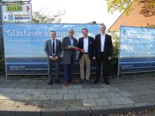 Tönisvorster Gewerbegebiete werden mit flächendeckendem Glasfasernetz (FTTH) ausgebaut