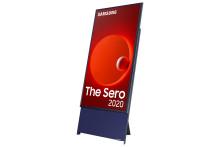 Salgsstart for Samsungs første roterende TV, The Sero