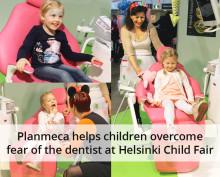 Planmeca helps children overcome fear of the dentist at Helsinki Child Fair