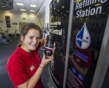 University saves one million bottles going to waste