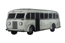 """Nyöppning av utställningen """"Den vita bussen"""" av Jan Håfström"""