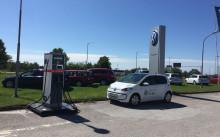 Ladda elbilen på väg till Almedalen