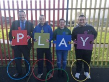 Communities receive the gift of play this Christmas across Mid and East Antrim
