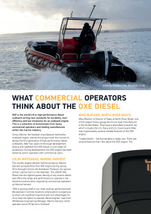What Commercial Operators Think About the OXE Diesel