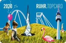 Die RUHR.TOPCARD überrascht zum Verkaufsstart 2020 mit komplett neuem Design