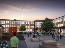 De ska bygga nya Brantingsskolan
