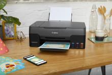 Maksimér produktiviteten med Canons fem nye MegaTank-printere