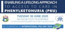 Virtuelle Diskussion mit Mitgliedern des EU-Parlaments zu Phenylketonurie – Prof. Martin Merkel als Experte