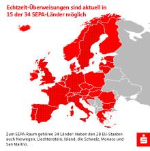 Sparkasse Mittelthüringen bietet Euro-Überweisungen in Echtzeit an