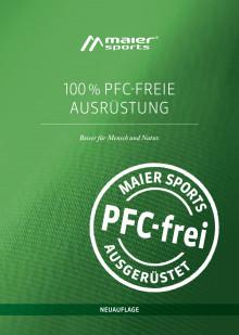 """Broschüre """"100% PFC-freie Ausrüstung"""""""