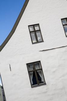 Det Gamle Rådhus, Bergen: 450 år gammel fasade endelig reparert