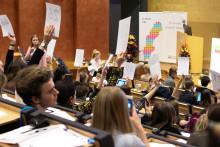 Riksdagspolitiker till elevkårernas kongress