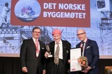 Olav Thon fikk Byggenæringens Ærespris 2018