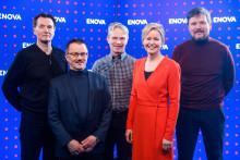 Enova støtter områdeutbygging av hurtigladere i Troms og Finnmark