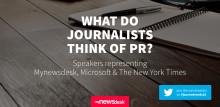 Hva tenker journalister om PR?