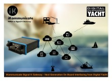 "iKommunicate from Digital Yacht brings the ""Internet of Things"" to boats"