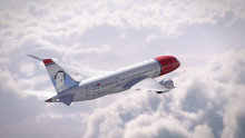 Harvey Milk takes to the skies as Norwegian's latest tail fin hero