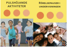 """Trivselprogrammet lanserar nu """"Rörelsepauser i undervisningen"""" samt """"Pulshöjande aktiviteter""""!"""