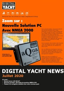 Newsletter Digital Yacht Juillet 2020