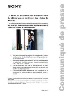 Communication de presse_Étude de High-Resolution Audio_F-CH_141121
