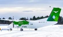 Widerøe lanserer (dash 8) fly i nytt design
