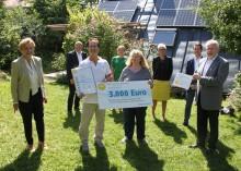 Energievorbild in Herrsching ausgezeichnet - Bayernwerk und Regierung verleihen Bürgerenergiepreis